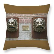 Mailboxes In Toledo Spain Throw Pillow