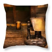 Mailman - The Mail Scale Throw Pillow by Mike Savad
