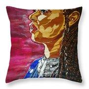 Maimouna Youssef Throw Pillow