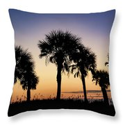 Main Beach Sunrise  Throw Pillow