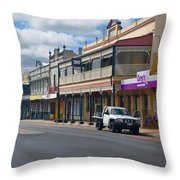 Collie Tidt Town  Throw Pillow