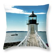 Main Life Throw Pillow