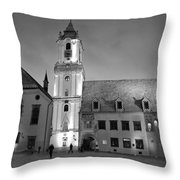 Main Square Throw Pillow