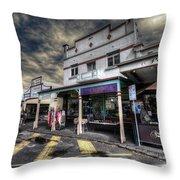 Main Street Jive Throw Pillow