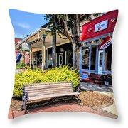 Main Street Mount Joy Throw Pillow