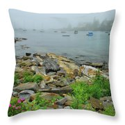 Maine Cove Throw Pillow