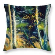 Maine Landscape 1919 Throw Pillow