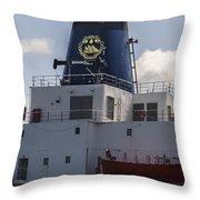 Maine Maritime Academy Throw Pillow