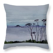 Maine Moody Distance Throw Pillow