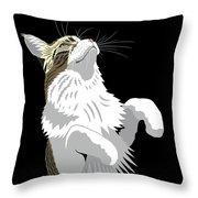 Mainecoon Throw Pillow