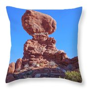 Maintaining A Balance Throw Pillow