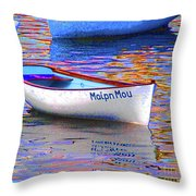 Maipn Mou Throw Pillow