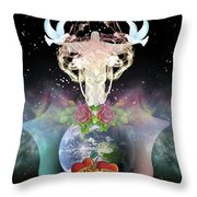 Majasty Throw Pillow