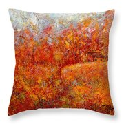 Majestic Autumn Throw Pillow