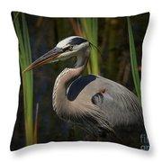 Majestic Bird Throw Pillow