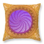 Majestic Ceiling Throw Pillow