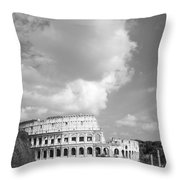Majestic Colosseum Throw Pillow