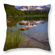 Majestic Glow Throw Pillow