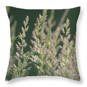 Majestic Grass Throw Pillow
