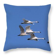 Majestic Migration Throw Pillow