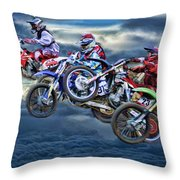 Majestic Motors Throw Pillow
