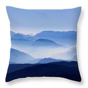 Majestic Mountains Throw Pillow