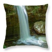 Majestic Pennsylvania Falls Throw Pillow