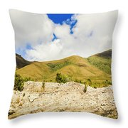 Majestic Rugged Australia Landscape  Throw Pillow