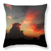 Majestic Sky Throw Pillow
