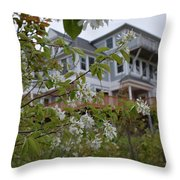 Majestic Structure Throw Pillow