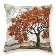 Majestic Tree Throw Pillow