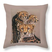 Majestic Vagabond Throw Pillow