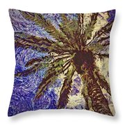 Majestic Vangoghed Throw Pillow