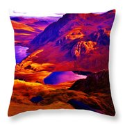 Majestic Wales Throw Pillow