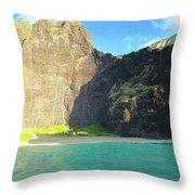 Majestic Wall Western Kauai Throw Pillow