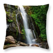 Majestic Waterfall Throw Pillow