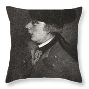Major General James Wolfe, 1727 To Throw Pillow