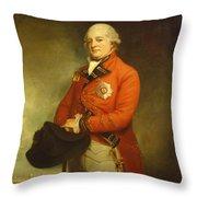 Major-general Sir Archibald Campbell Throw Pillow