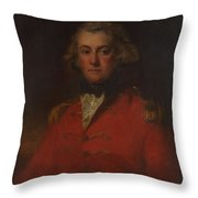 Major Thomas Pechell Throw Pillow