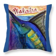 Makaira Throw Pillow