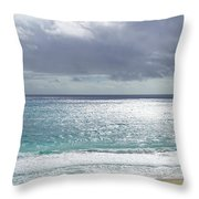Makapuu Beach Oahu Hawaii Throw Pillow