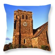 Maui Hawaii Makawao Union Church II Throw Pillow