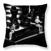 Make A Move Already Throw Pillow