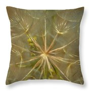 Make A Wish Throw Pillow by Donna Blackhall