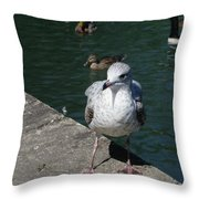 Make Sure You Get My Best Side Throw Pillow
