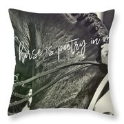 Make The Connection Quote  Throw Pillow