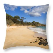 Makena Beach Throw Pillow