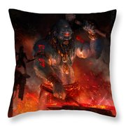 Maker Of The World Throw Pillow