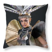 Makeup And Hair Artists Competition  Throw Pillow