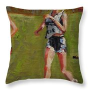 Making Good Time Throw Pillow